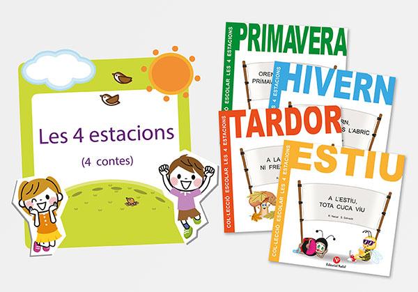 Col Lecció Contes Infantils 4 Estacions Editorial Nadal