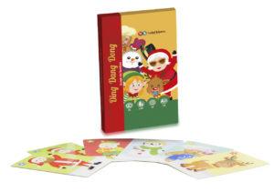 Juego de cartas de Navidad Ding Dang Dong