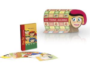 Pack de Nadal • Joc de cartes Pica Tió més conte La Tiona Juliana