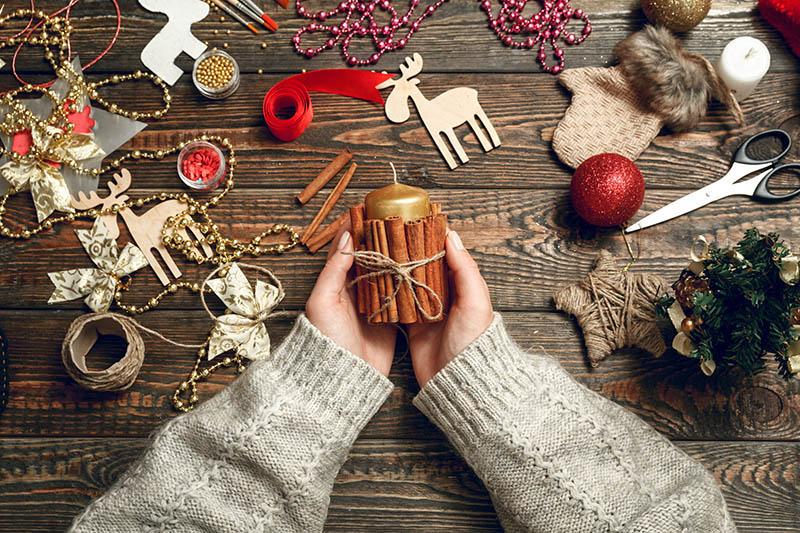 Espelmes amb canyella Editorial Nadal Edarca