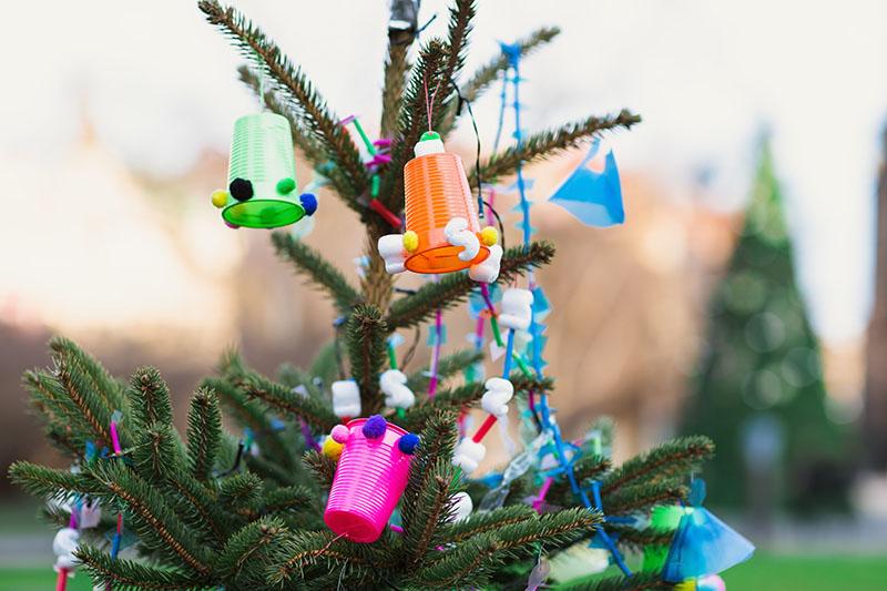 Garlanda de gots de plastic Nadal Edarca