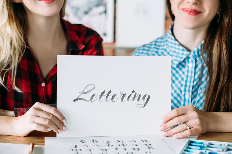 razones para iniciarte en el lettering